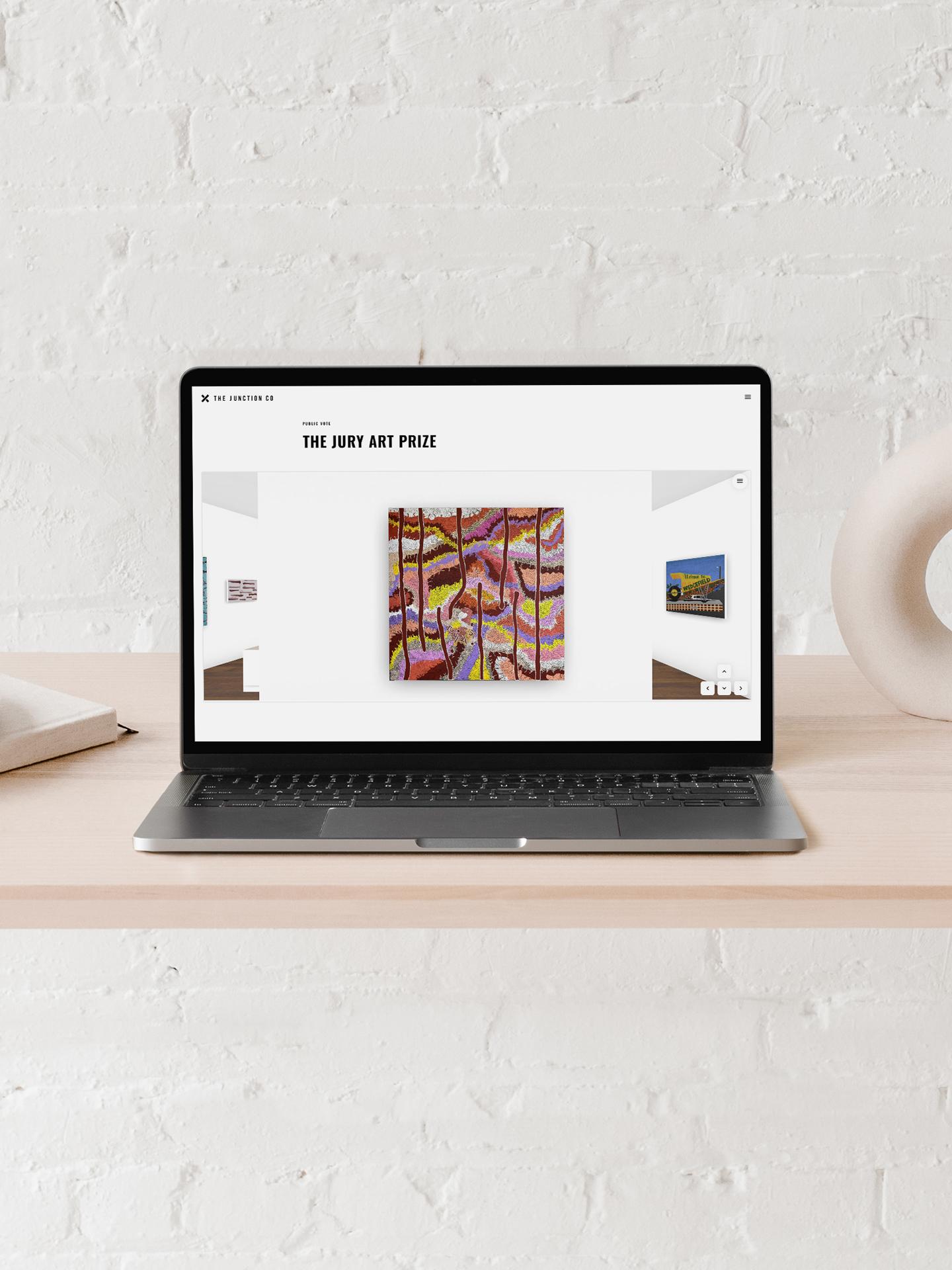 virtual gallery notebook