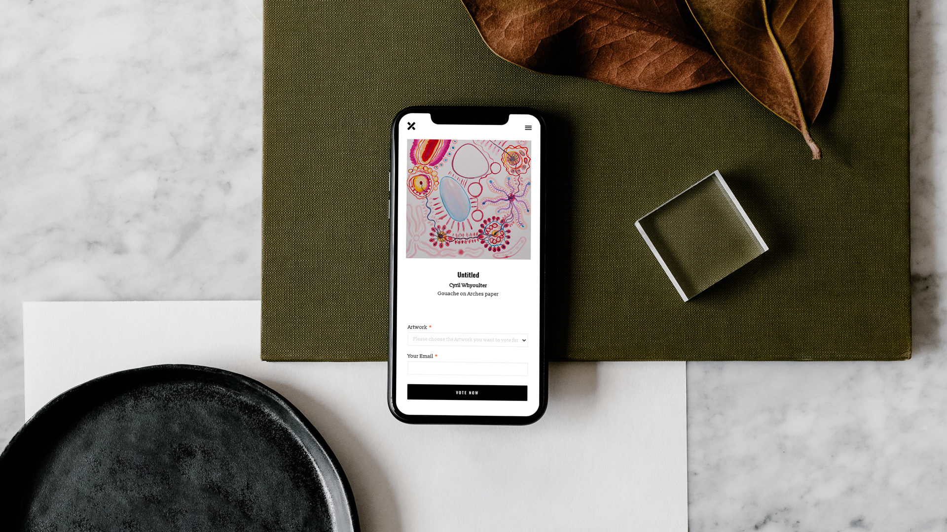 virtual gallery mobile