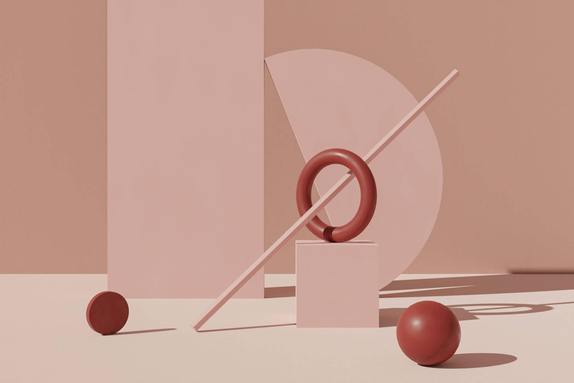 3D rendering geometric objects