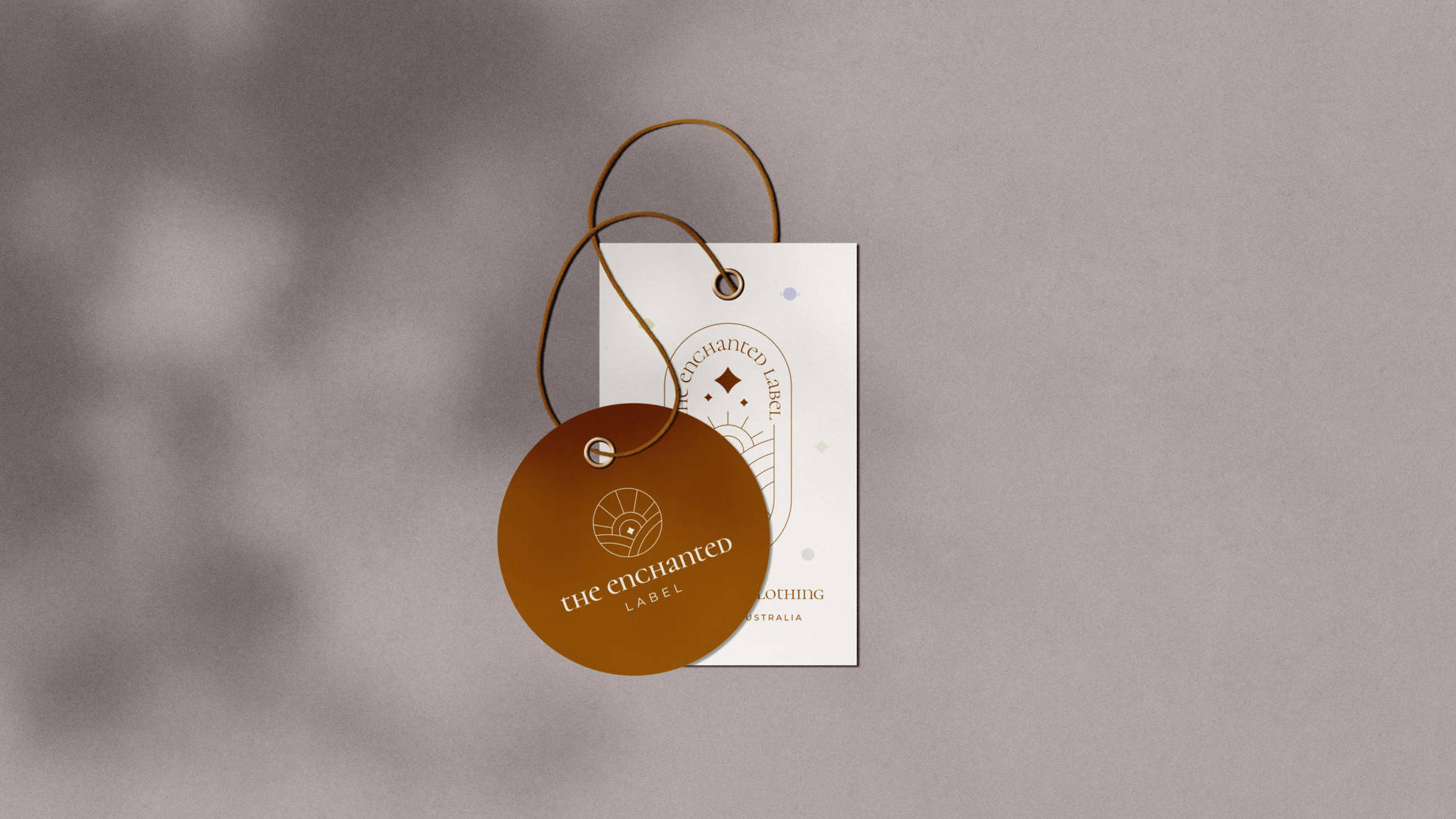 the enchanted label tag